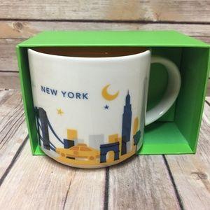 Starbucks New York You Are Here Coffee Mug